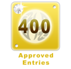 400 Edited Entries