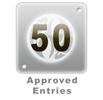 50 Edited Entries