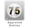 75 Edited Entries